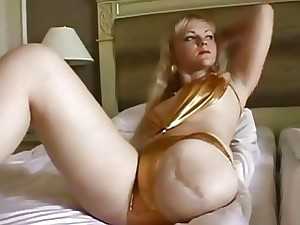 Blondie paralytic peels missing bikini with the addition of puts pantyhose with the addition of camisole exposed to