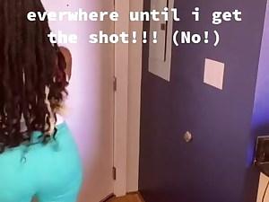 Big Booty Ebony Shakes her Ass