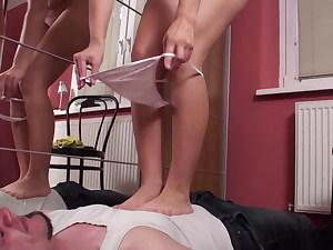 she get clothed on her slave